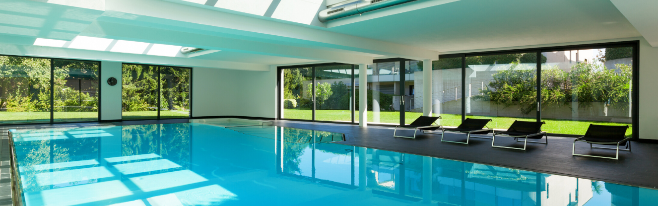 Indoor pool climate control